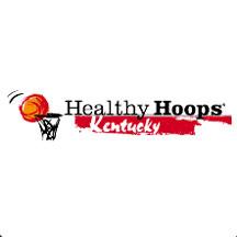 Healthy Hoops Kentucky Icon.